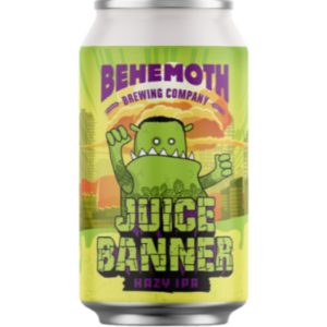 Behemoth Juice Banner Hazy IPA